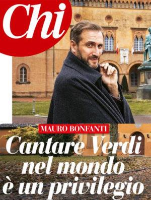 """Intervista a Mauro Bonfanti sul settimanale """"Chi"""""""